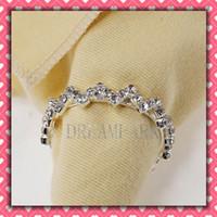 ECO Friendly rhinestone napkin ring - Newest Metal amp Rhinestone Napkin Rings Hotel Wedding Supplies