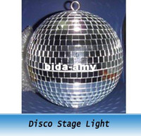 Wholesale 1FT inches Reflective Glass Ball Light LED Disco Crystal Ball Mirror Stage Lighting Effect