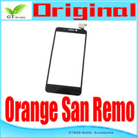Cheap 5pcs lot good quality touch digitizer for TCL Alcatel Orange San Remo touch screen digitizer free shipping