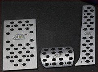 Wholesale Aluminum Fuel Brake Foot Rest Pedals FOR AUDI TT A3 car trim
