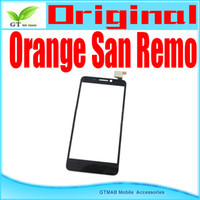 Cheap 10pcs lot good quality touch digitizer for TCL Alcatel Orange San Remo touch screen digitizer free shipping