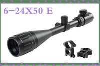 Wholesale Tactical x50 AOE Optics Air Rifle Scope Sight Gun mm Free Rail Mounts Outdoor Sports