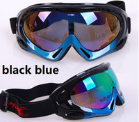 Wholesale Goggle Snowboard Snowmobile Motorcycle bike Ski Goggles Eyewear Frame Coloured Lens