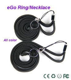 Wholesale Best eGo ring necklace Electronic Cigarette eGo necklace string eGo ring eGo necklace eGo ring necklace DHL