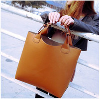 Wholesale Hot new women Retro fashion leather handbag shoulder bag totes color BAF005