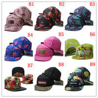 Wholesale baseball caps Men s Sport High Quality Snapback Caps street fashion snapbacks Trukfit snapback NRL custom strapback