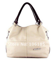 Wholesale Hot Sale high quality sheepskin PU leather handbags can put magazine freeshipping famous fashion fance designer