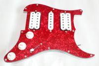 Wholesale Red pearl Guitar Prewired Pickguard pickup