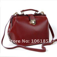 Wholesale BEST SELL The new women s doctor Boston designer fashion leather handbag bags Promotion HQ HB