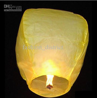 Wholesale Flying Lantern Kongming lantern Partying Lanteren Sky Chinese Lanterens