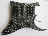 Wholesale Heteroideus Black pearl Guitar Pickguard pickup