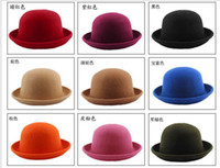 vintage hat lot - Vintage Fashion Wool Women Cute Lady Hat Trendy Bowler Derby Hat Men s Cloche L400
