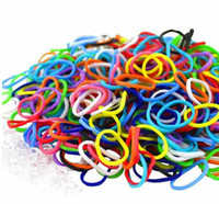 5-7 Years Color random Silicone Rainbow Loom a bag of c-clips Instruction manual and 600+ mixed color rubber bands Makes up to 24 rubber band bracelets #90197
