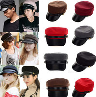 Wholesale Canvas flat military hat casual outdoor military hat sun hat Unisex Sport cap CW05010