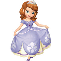 Mascot Costumes Women Free Size Free Shipping Deluxe 2013 New Sofia the First Mascot Costume, Sofia Mascot 100% Real Pictures!