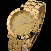 Wholesale MJ Quartz Watch Best Plating Steel Clock Crystal Womens Hours Christmas Gift Fashion Wristwatch