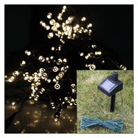 Wholesale 100 Solar LED String Lights Decoration For Christmas Tree birthday Party Outdoor Garden home