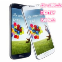 Wholesale HOT S4 I9500 Air Gesture Core MTK6577 Android smartphone inch high definition screen G RAM G ROM MP HD camera