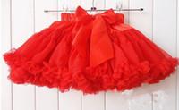 Wholesale Girl s Tutu dress children s skirt princess dress Solid cake dresses for cm girls sizes