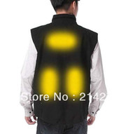 Wholesale free fedex pieces Brookstone Womens ACTIVHEAT Heated Windproof Microfleece Vest New