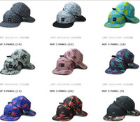 Ball Cap Green Man Wholesale - NEW Adjustable Hot Sale High Quality HUF HUSH Snapback Cocaine & Caviar Snapbacks Strap Back Hats Caps Snap back Hat Cap Free Sh