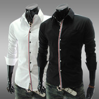 Men Silk  NEW Men's casual Slim Long Sleeve Shirts Men's shirt Dress Shirts For Men Business Shirts CS12