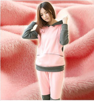 Wholesale Hot Thermal Long Sleeve Plus Size Maternity Pants Winter Nursig Pajamas Feeding Maternity Jumpsuits