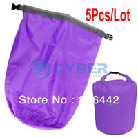 Wholesale Whoelsale L Waterproof Dry Bag for Canoe Kayak Rafting Camping Sports Purple