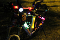 used bicycles - LED Flash Bicycle lights Warning riding bicycle lights Camping lights use at night and rain