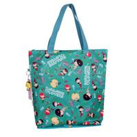 Wholesale Nylon Foldable Shopping Bag Mixes Color Shoulder Bags