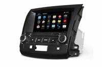 2 DIN car dvd player for mitsubishi outlander - 8inch Car DVD for MITSUBISHI OUTLANDER with GPS Navigation IPOD FM AM Radio Bluetooth AUX Function Dual Zone