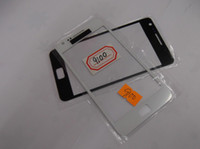 For Samsung s2 i9100 - S2 I9100 glass Lens for samsung lcd touch screen digitizer front glass lens