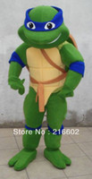 Wholesale Teenage Mutant Ninja Turtle Mascot Costume Adult Character Costume very good quality