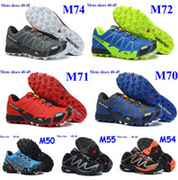 Wholesale New arrival Salomon Shoes for Men overland salomon S LAB FELLCROSS men s Running shoes XT D wings ultra salomon shoes