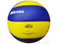 Wholesale hot sale Mikasa Volleyball PU Soft Touch Offical Size NEW MVA200 volleyball via ems