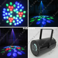Wholesale Cylincler Moonflower LED Lights Small Water Flow Effects Lighting KTV Bar Pub Family Party Reunion Wedding Fiestas