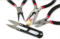 Wholesale set Pliers For Jewelry Making wire cutter Jewelry Tools Equipment