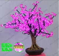 Christmas Tree No No Indoor Shining Led bonsai Cherry Tree Light MYY7054