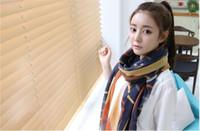 Wholesale Scarf female BaLiSha stripe fabric air conditioning Korea warm scarf shawl joker model fm158