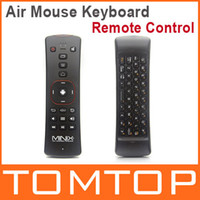 Wireless   MINIX NEO A2 2.4G Wireless Voice Air Mouse Keyboard Remote Control for PC Notebook Smart TV