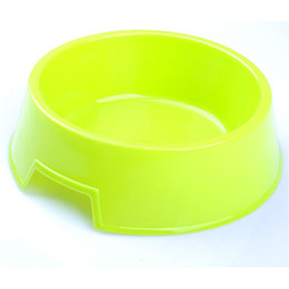 Wholesale Three Colors Pet Bowl with Different Size Pet Supplies Dog Food Bowl CF004