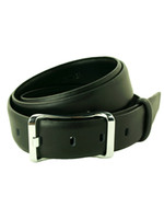 Wholesale Pure Black Cow Leather Grommets Men s Casual Belt u6 Q5u