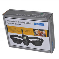 Wholesale Remote Pet Training Collar with LCD Display Electronic Dog Training Tool IS PET998D