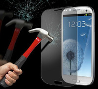 Wholesale Premium Tempered Glass Film Screen Protector for Samsung Galaxy S3 S4 Note NOTE i9300 i9500 n7100 n9000