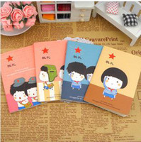 Wholesale Cute Cartoon notebook Diary book Memo pad note pad students gift note book