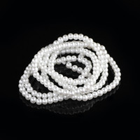 Wholesale Hot Sale mm Imitation pearl Glass Bead String