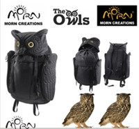 Wholesale Fashion Owl D backpack MORN CREATIONS bag nocturnal guardian legend hoot hooter fashion unisex athletic outdoor duffel bags backpacks