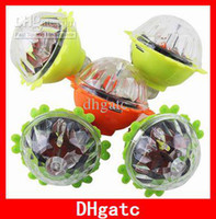 Wholesale Newest Colorful LED Gyro Flash Gyro Inertial Friction Tops Cheap Super Lighting Spinning tops