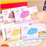 Wholesale Lovely color mood note Mini mood post it notes notebook Korea stationery Notepad