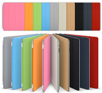 table pc - 100 fit Smart Cover PU Leather Case Cover Sleep work with Stand Holder Protection Table PC For ipad Air ipad ipad mini MOQ